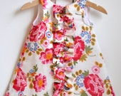 Ruffled Chemise for Baby Sewing Pattern PDF (INSTANT DOWNLOAD)