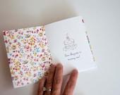 Printable Birthday Invitation: Vintage Book Birthday Accordion Fold Invite (Customizable Text) (INSTANT DOWNLOAD)