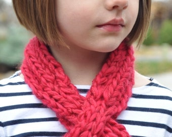 Knitting Pattern: Scarflette for Children (PDF)