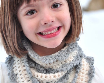 Crochet Scarf Pattern: Skinny Scarf for Girls and Women (PDF)