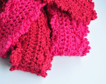 Crochet Scarf Pattern: Skinny Scarf for Women and Girls (PDF INSTANT DOWNLOAD)