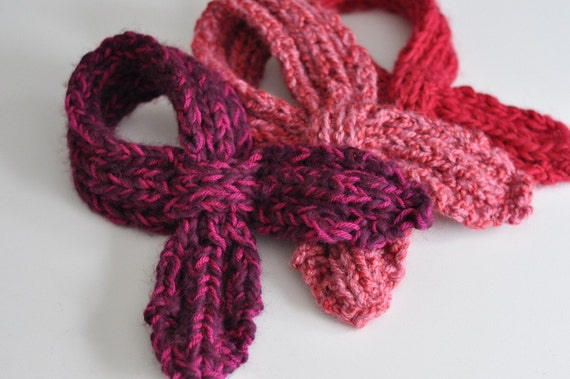 Knit Scarflette Pattern Free : Scarflettes Knitting Patterns images
