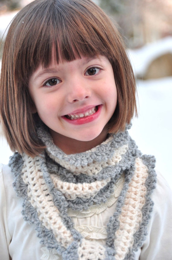 Crochet Scarf Pattern: Skinny Scarf for Girls and Women (PDF)