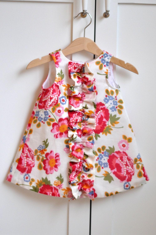 Сшить детское платье на год своими руками