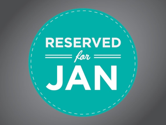 Reserved for Jan