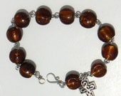 Amber Rosary Bracelet