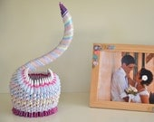 First Anniversary / Pencil Holder / Paper Anniversary / Housewarming / Housewarming Gift / Swans / Gift for Her / Home Décor / Unique Gift /