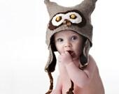 Custom Made Owl Hat