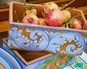 Pomegranate & Artisan Terra Cotta, Tuscany