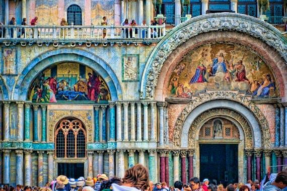 Postcard Set, envelopes (oversized) - Venetian Jewel - Fine Art Postcards - doors, windows, architecture - affordable art gift