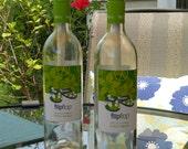 Citronella Wine Bottle Torches