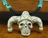 The Turquoise Jester Necklace