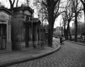 Cimitiere du Pere-Lachaise (Paris) -8x10 photographic art print