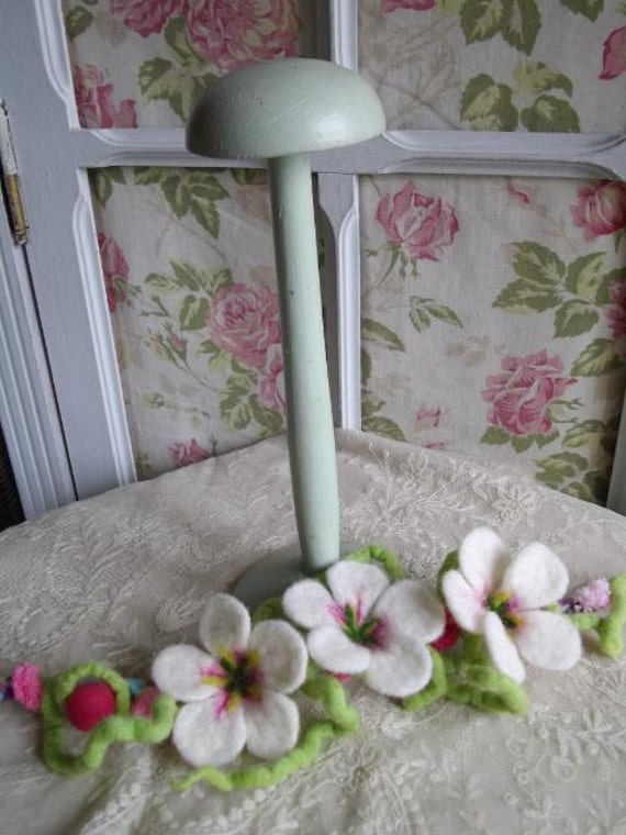 Superb shabby chic antique French porte chapeau hat stand - boudoir chic