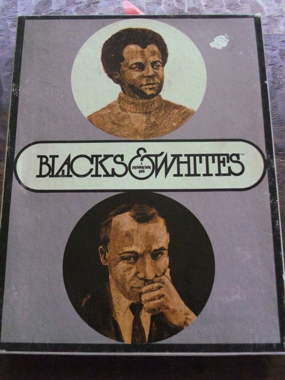 1970 Psychology Today Game: Blacks & Whites