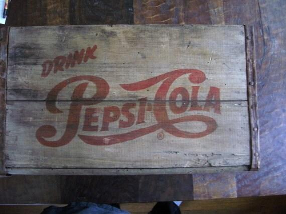 Old Wood Pepsi Crate