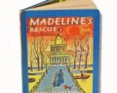Rare Madeline's Rescue Book 1953 Edition Hard Cover