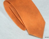 Boy's Neck Tie Orange