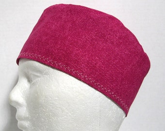 Scrub Hat, Surgery Cap or Chemo Hat Rose Pink