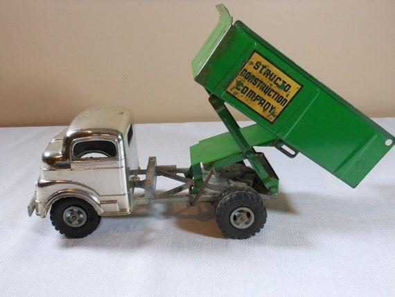 Vintage Structo Construction Company Toy Truck on SALE