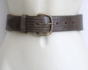 Vintage Textan Western Brown Belt Wrap Belt Size 28 Price Slashed 50%