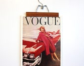Reserved. Vintage Vogue Magazine Cover Poster