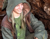 Legolas Hoodie - Green & Brown Forest Elf Deliciousness