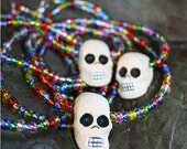 Day Of The Dead Necklace - CANDY