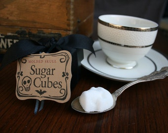 Sugar Cube Skulls - Favor Box Skull Gift Set