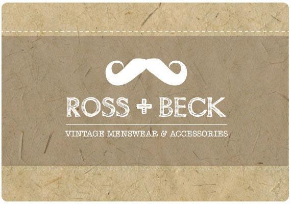 Custom Logo  -  PreDesigned PreMade Logo ROSS & BECK