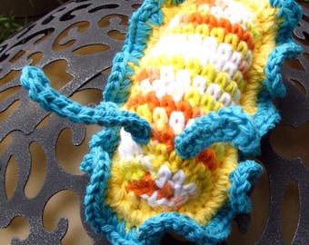 Nudibranch Sea Slug Amigurumi Toy