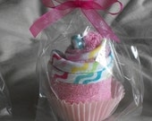 Baby Washcloth Cupcake Favor