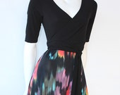 Wrap Top Dress, last one size Large