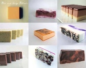 SOAP - Six (6) all natural Handmade Soaps