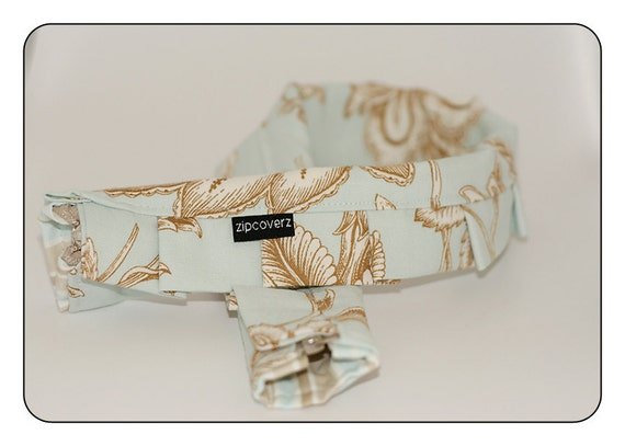 Beach Floral -Ruffled: Zipcoverz Camera Strap Cover- FREE SHIP