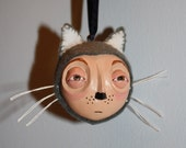 Wolf Halloween Ornament