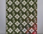 Green Floral Pattern Journal