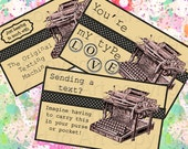 STEAMPUNK TEXTING MACHINE postcard, greeting, aceo Business Cards Greeting cards (257) you print crafts, scrapbooking cards messages