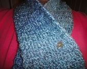 Waterfall Scarf (crocheted) FREE shipping