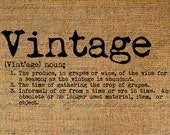 Dictionary Definition Word VINTAGE Typography Digital Image Download Transfer To Pillows Totes Tea Towels Burlap No. 3444