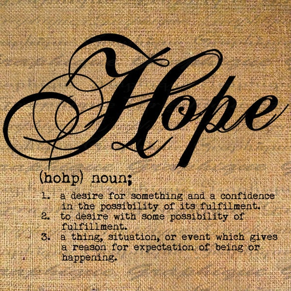 Typography Hope The Image Kid Has It