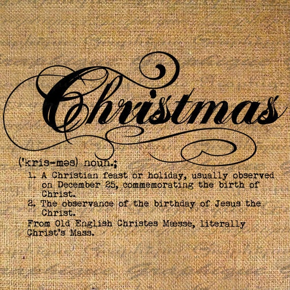 Items Similar To Christmas Digital Collage Sheet Download