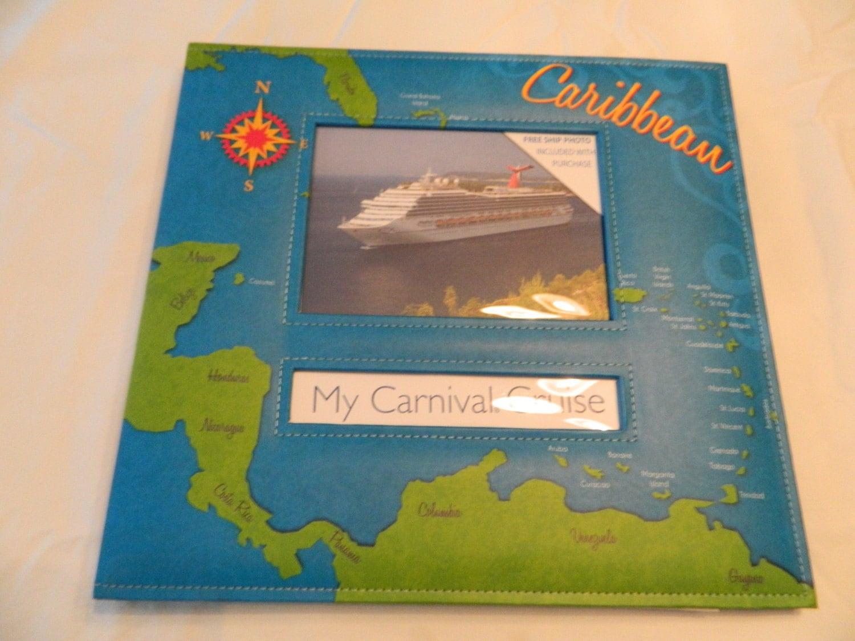 12x12 caribbean cruise scrapbook album by zanydelaney on etsy. Black Bedroom Furniture Sets. Home Design Ideas