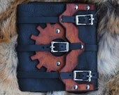 Leather Steampunk Kindle Touch Case