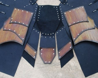 LARP Leather War Kilt Armor