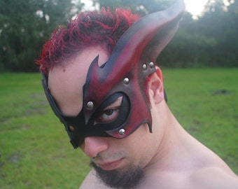 Crimson Draconian Hero Mask