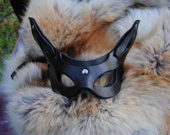 Onyx Imp Leather Mask 2.0