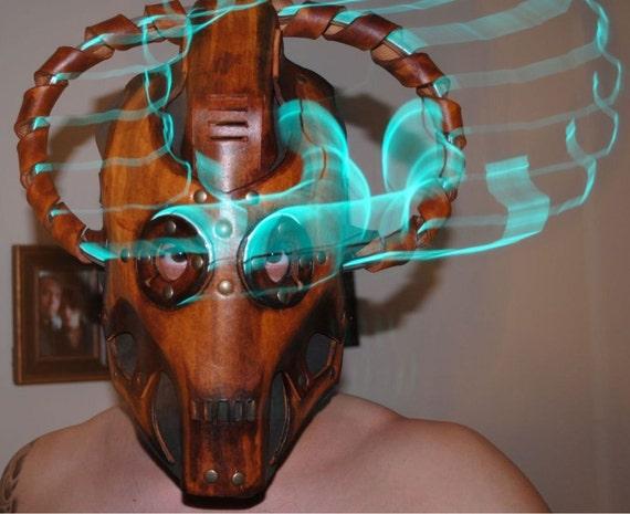 Steampunk Doctor Who Cybermen Mask