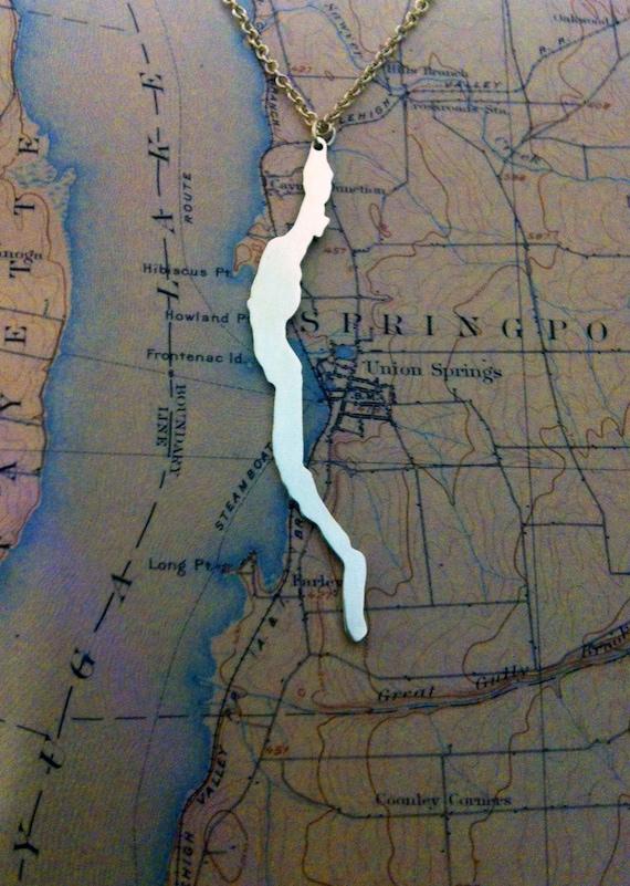 Cayuga Lake Necklace