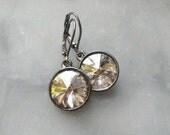 crystal Silver Shade drops